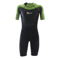 Maddog WS3 Mens Superstretch 2mm Springsuit Black/Lime L