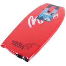 Maddog Missile Body Board 41in Red