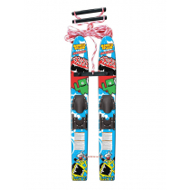 Airhead Monsta Splash Trainer Skis 122cm