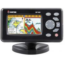 Samyung NF430 Fishfinder/Chartplotter with NZ/AU Chart and Thru-Hull Transducer