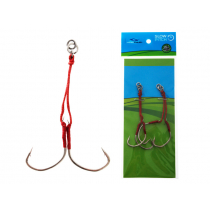 Ocean Angler Replacement Assist Rigs Twin Pack 70mm