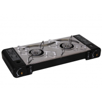 Gasmate Deluxe Twin Portable Butane Stove