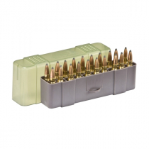 Plano 122920 Medium Rifle Ammo Case 20 Rounds Green