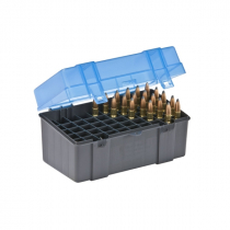 Plano 123050 Large Rifle Ammo Case 50 Rounds Blue
