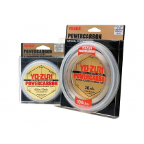 Yo-Zuri PowerCarbon Crystal Clear Fluorocarbon Leader 50m