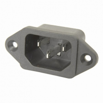 IEC320 Male Chassis Power Plug