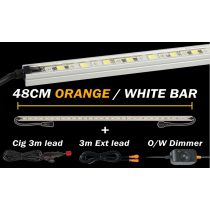 Hard Korr Lighting 48cm Orange/White LED Light Kit