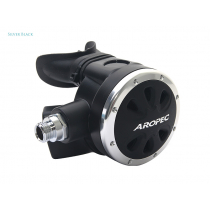 Aropec Apollo Second Stage Regulator Silver/Black