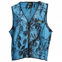 Ridgeline Full Zip Safety Vest Blue Camo