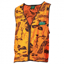 Ridgeline Full Zip Safety Vest Blaze Camo