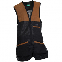 Ridgeline Legend Shooting Vest Black/Brown XS