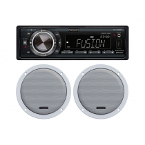 Fusion RV-CD850BT Bluetooth Stereo Package with Speakers