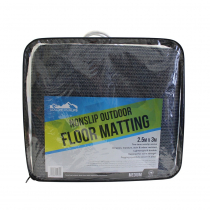 Southern Alps Blue and Grey Floor Mat 2.5m x 3m