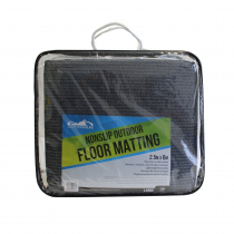 Southern Alps Blue and Grey Floor Mat 2.5m x 6m