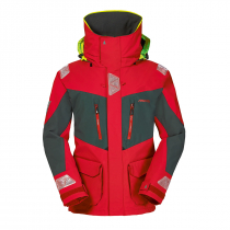Musto BR2 Offshore Jacket Red/Dark Grey Size S