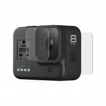 GoPro HERO8 Black Tempered Glass Lens and Screen Protectors