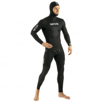 Seac Black Shark Mens Spearfishing Wetsuit 2-Piece 5mm