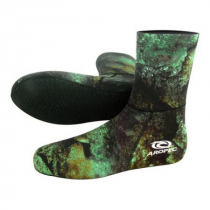 Aropec Mens Spearfishing Dive Socks Camo Green 3mm