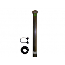 Heavy Duty Water Ski Pole with U Bracket