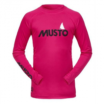 Musto Junior Insignia Rash Top Cerise L