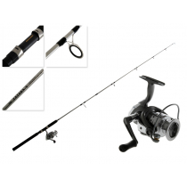 TiCA Zatara LBXT3000S and SMLA66MH2S Spin Combo 6'6'' 10-20lb 2pc