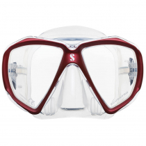 Scubapro Spectra Dive Mask Clear/Red