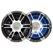 Fusion Signature 2-Way Coaxial Sports Chrome Marine Speakers with LED 6.5'' 230W