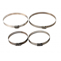 Stainless Steel Screw/Band Hose Clamp