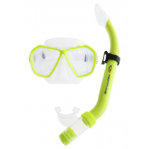 Neptune Escape Mask and Snorkel Combo PVC Yellow
