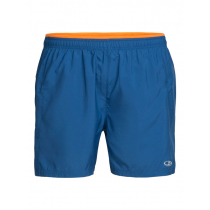 Icebreaker Mens Cool-Lite Strike Lite Shorts Sea Blue/Koi 2XL