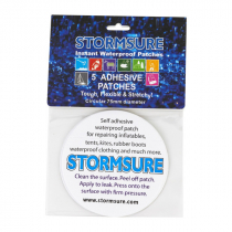 Stormsure Instant Waterproof Adhesive Repair Patch 75mm Qty 5