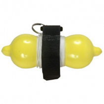 Aropec Dive Marker Buoy with 75ft Line - Neon Yellow