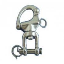 Cleveco 316 Stainless Steel Swivel Jaw Snap Shackles