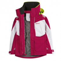 Musto BR2 Offshore Jacket Womens Cerise/White