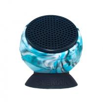 The Barnacle Plus Waterproof Bluetooth Speaker 4GB Tidal Blue
