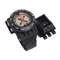 Aropec Wrist Dive Compass with Hose Clamp