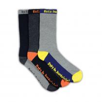 Bata Socks 3-Pack Yellow/Orange/Grey