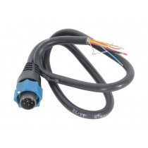 Transducer Adapter Cable For Lowrance Blue Plug and Simrad NSE Models