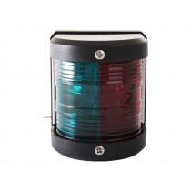 Bi-Colour Red/Green LED Navigation Bow Light 2NM Black Housing