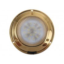 Brass 20 LED Dome Light Cool White 1.7w 21lm