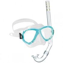 Cressi Perla Mare Jr Mask and Snorkel Set
