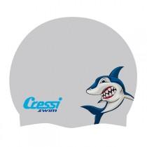 Cressi Adult Fantasy Silicone Swim Cap