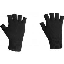 Icebreaker Merino Hybrid Highline Fingerless Gloves Black XL