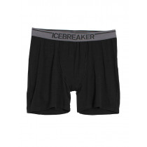 Icebreaker Mens Merino Anatomica Boxers Black