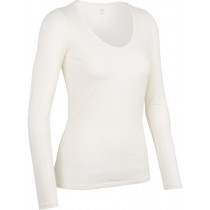 Icebreaker Womens Merino Siren Long Sleeve Shirt Sweetheart Snow