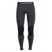 Icebreaker Mens Merino Winter Zone Leggings Jet Heather/Black