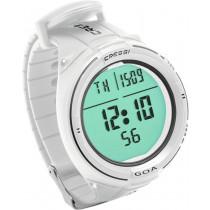 Cressi GOA Wrist Watch/Dive Computer White/Black