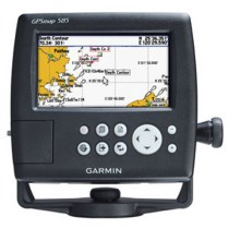 Garmin GPS Map 585 Chartplotter/Fishfinder with 50/200KHz Transducer and NZ/AU Chart G2 Vision Chart