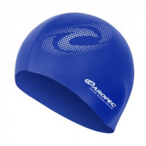 Aropec Adult Silicone Volume Swim Cap Blue