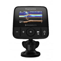 Raymarine Dragonfly 4DVS 4.3'' Dual Channel CHIRP Fishfinder with Transducer